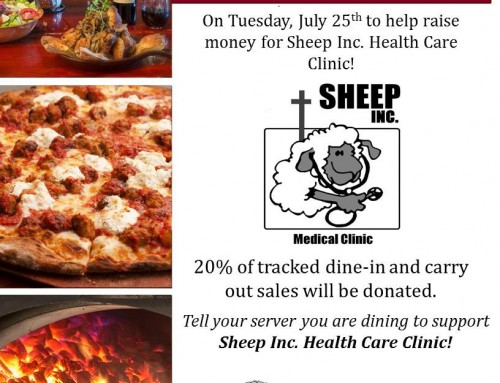 Anthony's Coal-Fire Pizza Fundraiser July 25th