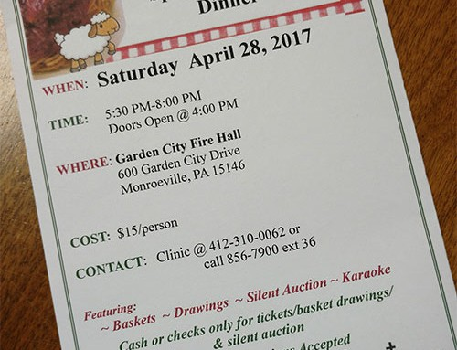 6th Annual Spaghetti Benefit Dinner 2018