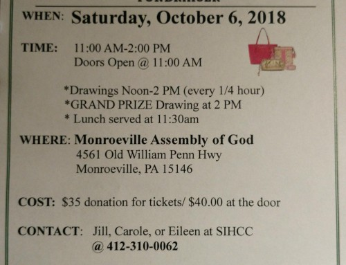 Annual Fall Purse Bash Fundraiser 2018!!